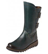 Fly london Sack785FLY Diesel Leather Womens Mid Calf Boots