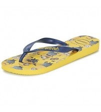 Havaianas Minions Yellow Black Womens Summer Beach Flip Flops