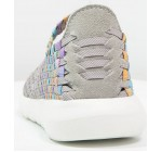Hey Dude E-Last Tessa Grey Multi Womens Mary Janes Shoes