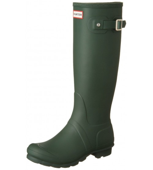 Hunter Orignal Tall Hunter Green Womens Wellington Boots