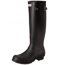 Hunter Orignal Tall Black Womens Wellington Boots