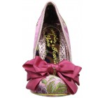 Irregular Choice Ascot Pink Multi Womens Heels Court Shoes