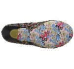 Irregular Choice Dazzle Razzle Black Gold Womens Court Shoes