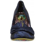 Irregular Choice Dazzle Razzle Navy Womens Court Shoes