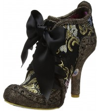 Irregular Choice Abigail's Third Party Bronze Gold Womens Boots