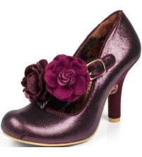 Irregular Choice Aurora Purple Womens Hi Heels Shoes