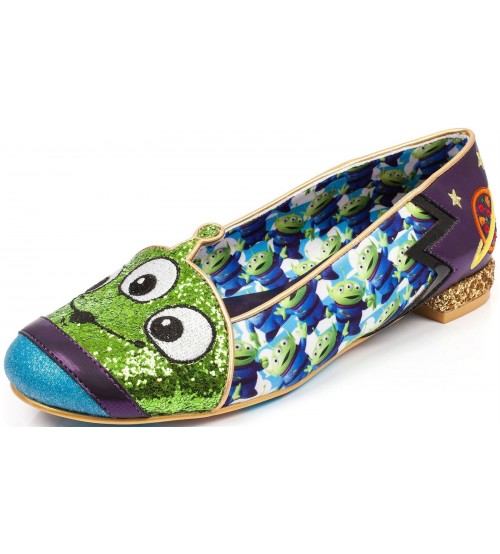 Irregular Choice Toy Story Eternally Grateful Green Blue Heels