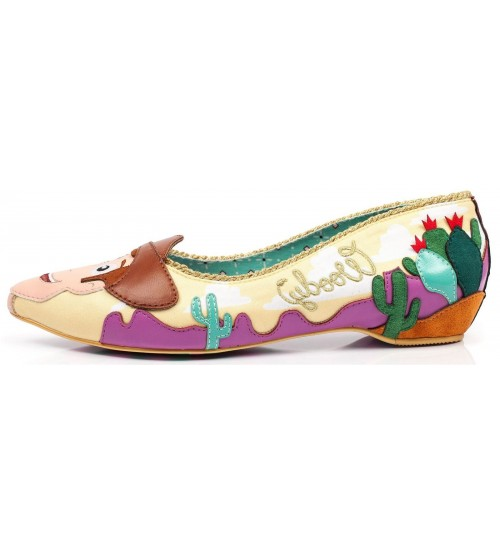 Irregular Choice Toy Story Round Up Gang Pink Yellow Heels
