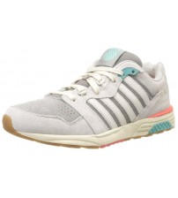 K. Swiss SI-18 Rannell 2 Grey Pink Women Suede Trainers