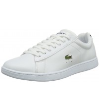 Lacoste Carnaby EVO White Womens Leather Traines Shoes