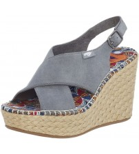 Rocket Dog Rue Dusty Blue Womens Wedge Sandals Shoes