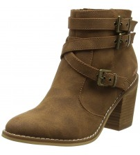 Rocket Dog Deon Brown Womens Ankle Boots Shoes