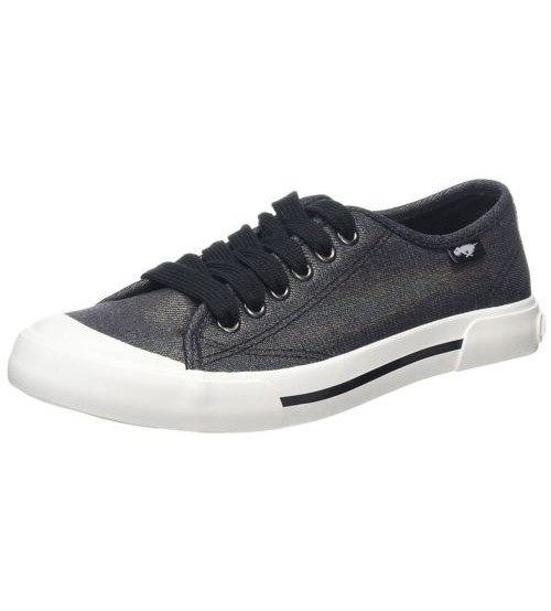 Rocket Dog Jumpin Pewter Womens Trainers Shoes