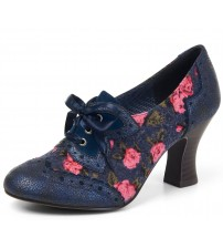 Ruby Shoo Daisy Blue Womens Heels Shoes