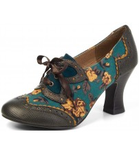 Ruby Shoo Daisy Olive Womens Heels Shoes