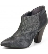 Ruby Shoo Erika Pewter Womens Hi Ankle Boots