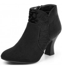 Ruby Shoo Kennedy Black Womens Hi Ankle Boots