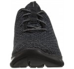 Skechers Flex Appeal 2.0 Bold Move Black Womens Trainers Shoes