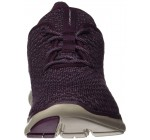 Skechers Flex Appeal 2.0 Bold Move Plum Womens Trainers Shoes