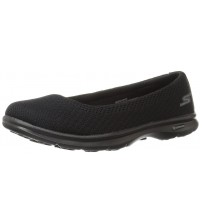 Skechers Go Step Primary Black Womens Silpon Shoes