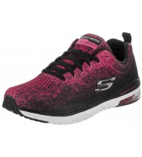 Skechers Skech Air Infinity Pink Black Womens Trainers