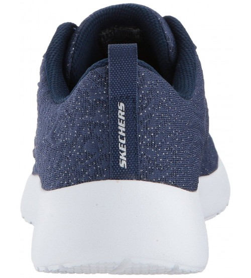 Skechers Dynamight Blissful Navy White Womens Trainers Shoes