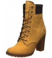 Timberland Glancy 6 Inch Wheat Womens Leather Boots