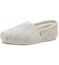 Toms Classic Birch Kint Shearling Womens Espadrilles Shoes