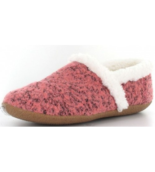 Toms Classic Faded Rose Shearling Womens Slippers