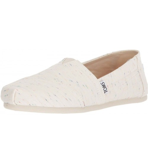 Toms Classic Birch Jersey Fleck Womens Espadrilles Shoes