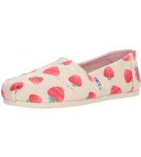 Toms Classic Birch Strawberries Womens Espadrilles Shoes