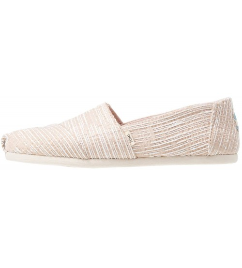Toms Classic Oxford Tan Womens Espadrilles Slipons Shoes