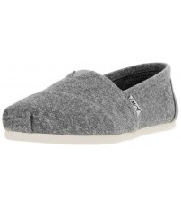 Toms Classic Grey Marl Womens Espadrilles Shoes Slipons