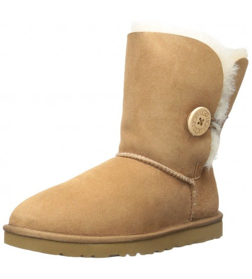 Ugg Australia Bailey Button Chestnut Womens Boots