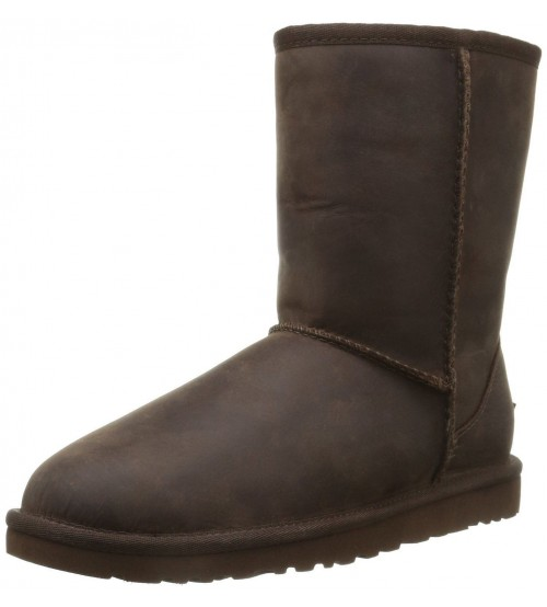 Ugg Australia Classic Short Brown Stone Womens Boots