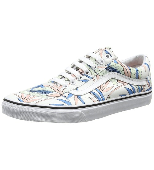 Vans Old Skool Tropical Leaves Multicolor Womens Trainers