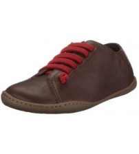 Camper Peu Cami 20848 020 Chocolate Red Women Leather Lo Trainers