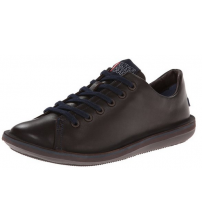 Camper Beetle 18648 Brown Blue Men Lo Leather Trainers