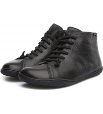 Camper Peu Cami Black Men Mid Leather Trainers Shoes