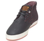 Fish n Chips By Base London Rod Black Multi Mid Top Shoe