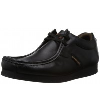 Base London Storm Black Leather Men Shoes