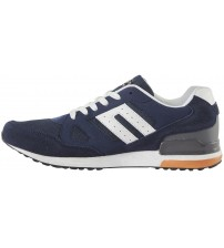 Blend He Navy White Orange Mens New Trainers Shoes