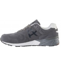 Blend He Grey White Men Trainers