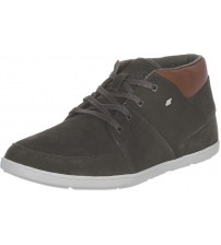 Boxfresh Cluff Brown White Canvas Leather Men Trianers