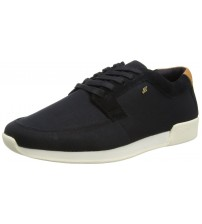 Boxfresh Cowl Black White Men Suede Trianers