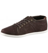 Boxfresh Sparko Prem Brown White Waxed Suede Trainers Shoes