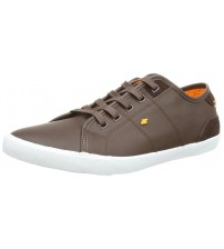 Boxfresh Mitcham Brown Orange Men Leather Shoes