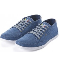 Boxfresh Sparko Blue Brown Canvas Men Shoes