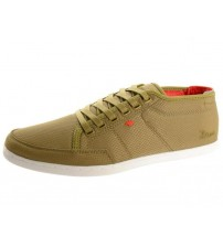 Boxfresh Sparko 4 Bronze Red White Mesh Nylon Men Trainers