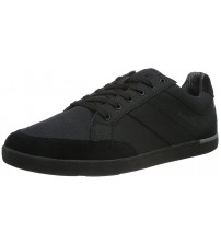 Boxfresh Creeland Sh Rip Black Nylon Suede Mens Trainers